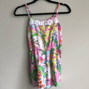 GIRLS' Large Lilly For Target Nosie Posey Romper